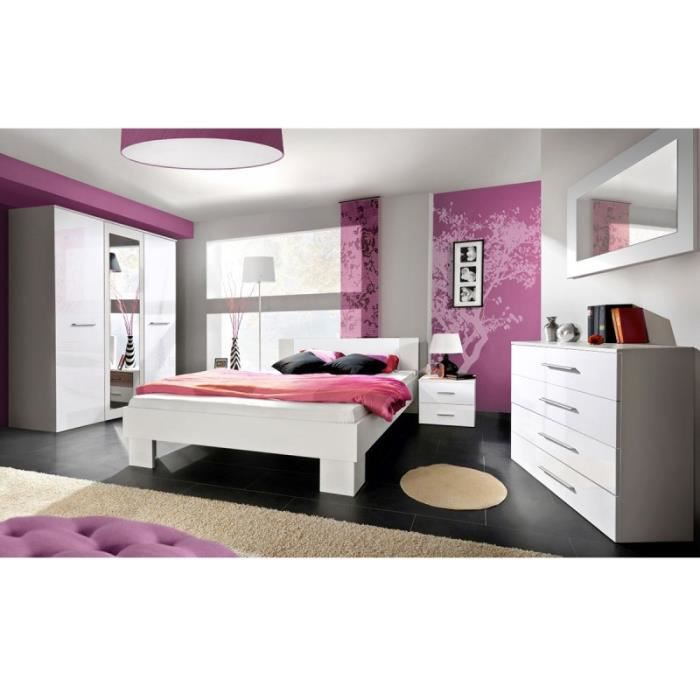 Paris prix chambre compl te adulte 6p vicky 180x200cm for Chambres adultes completes
