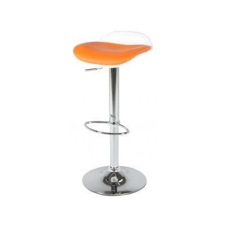 tabouret de bar design blanc orange levy achat vente tabouret tabouret de bar design blan. Black Bedroom Furniture Sets. Home Design Ideas