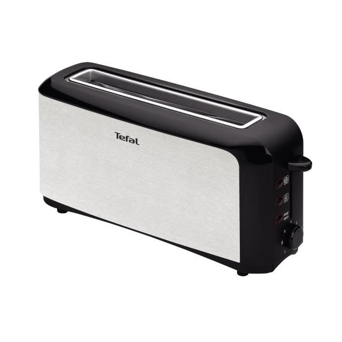 grille pain tefal tl356102 achat vente grille pain toaster cdiscount. Black Bedroom Furniture Sets. Home Design Ideas