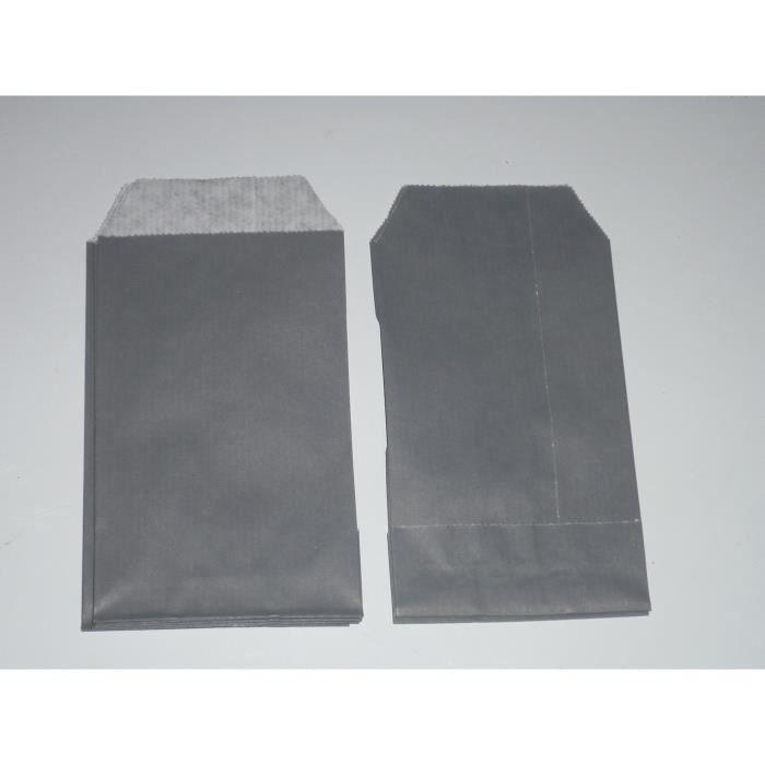 20 pochettes cadeaux kraft gris souris 7x12cm achat vente pochette cadeau 20 pochettes. Black Bedroom Furniture Sets. Home Design Ideas