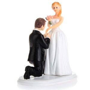 figurine dcor gteau figurine mariage couple amoureux dcoration gtea - Figurine Mariage Mixte
