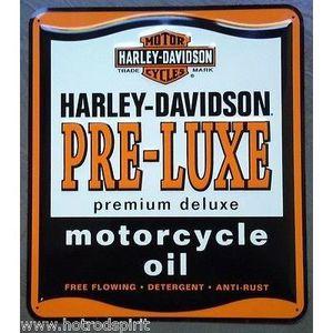 Deco plaques fer ou plaque emaillee  Plaque-publicitaire-en-metal-harley-davidson-of