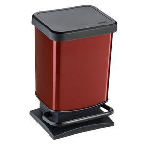 poubelle cuisine rouge achat vente poubelle cuisine. Black Bedroom Furniture Sets. Home Design Ideas