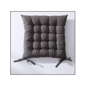 COUSSIN DE CHAISE  Galette de chaise 40x40 cm matelassé bronze