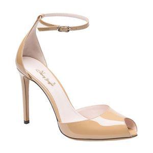 ESCARPIN Pompes 2015 sandale sexy femmes du parti peep toe