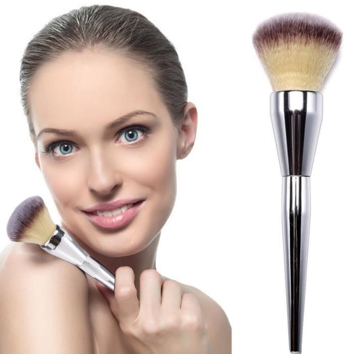 pinceau de maquillage maquillage professionnel fondation gros pinceau poudre cr me brosse. Black Bedroom Furniture Sets. Home Design Ideas