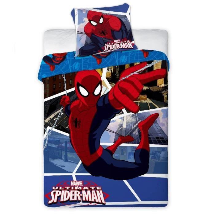 Parure de lit spiderman ultimate achat vente parure de - Parure de lit spiderman 1 personne ...