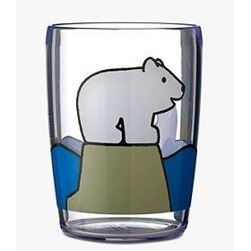 Verre acrylique enfant zoo achat vente verre eau for Art de la table verre