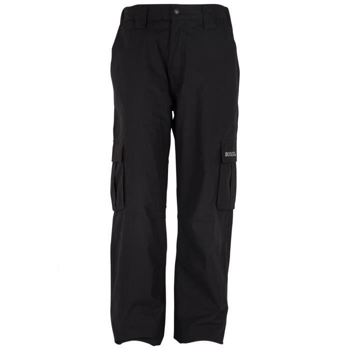 winter pantalon enfants fille gar on chaud doubl polaire hiver marche randonn e noir achat. Black Bedroom Furniture Sets. Home Design Ideas