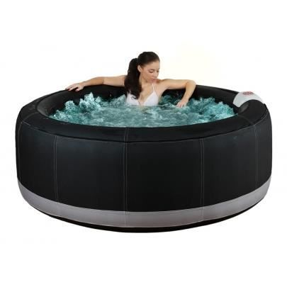 Spa gonflable 4 personnes bcool iii noir 130 b achat vente spa comple - Jacuzzi gonflable brico ...