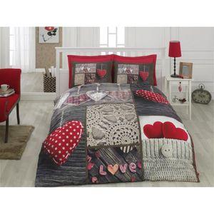 parure de lit 3d achat vente parure de lit 3d pas cher. Black Bedroom Furniture Sets. Home Design Ideas