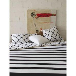 housse de couette noire 200x200 achat vente housse de couette noire 200x200 pas cher cdiscount. Black Bedroom Furniture Sets. Home Design Ideas
