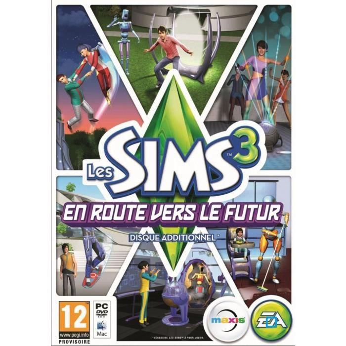 JEU PC Les Sims 3 En Route Vers Le Futur Jeu PC
