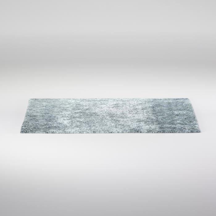 Tapis de salon shaggy 100 polyester lilou gris 160x230 cm - Tapis shaggy gris 200x290 ...