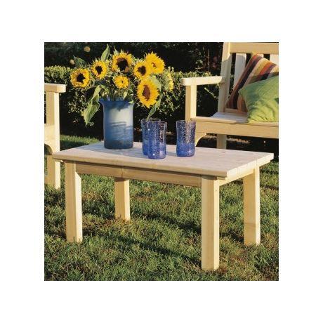 Table basse art et jardin quebec en bois achat vente for Table extensible quebec