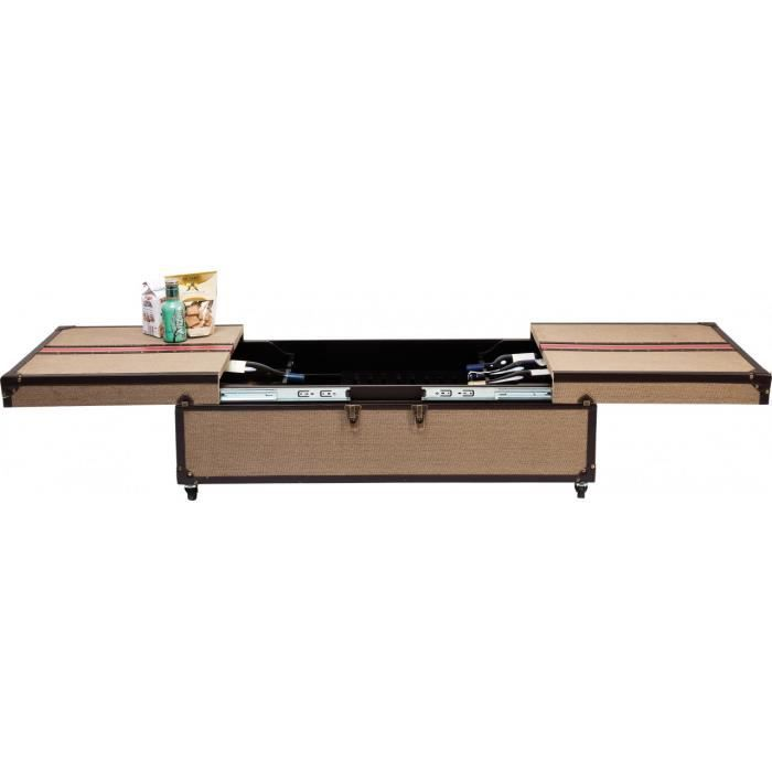Table basse bar break out kare design achat vente table basse table basse - Table basse avec bar integre ...