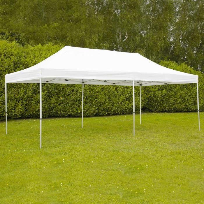 Tente pliante de jardin récpetion 4 x 8 m - Achat / Vente ...