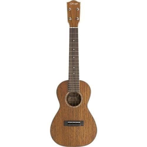 Stagg ukulele concert acajou massif mat housse pas cher for Housse ukulele concert
