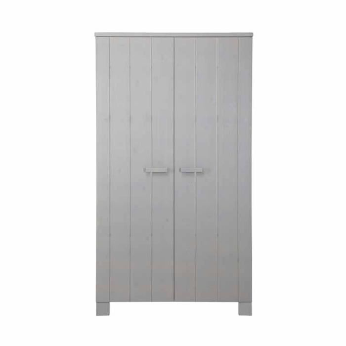Armoire enfant daam en pin bross gris clair achat vente armoire 87147130 - Armoire enfant cdiscount ...