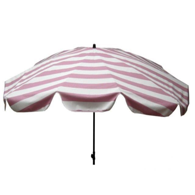 parasol ovale cabourg guimauve 200x300cm achat vente parasol ombrage parasol ovale cabourg. Black Bedroom Furniture Sets. Home Design Ideas