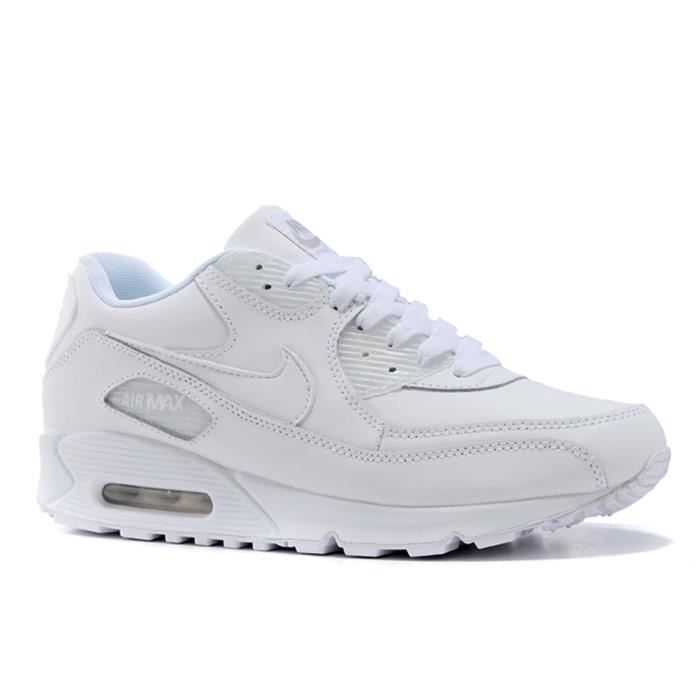 BASKET NIKE Baskets Air Max 90 Leather Chaussures Homme