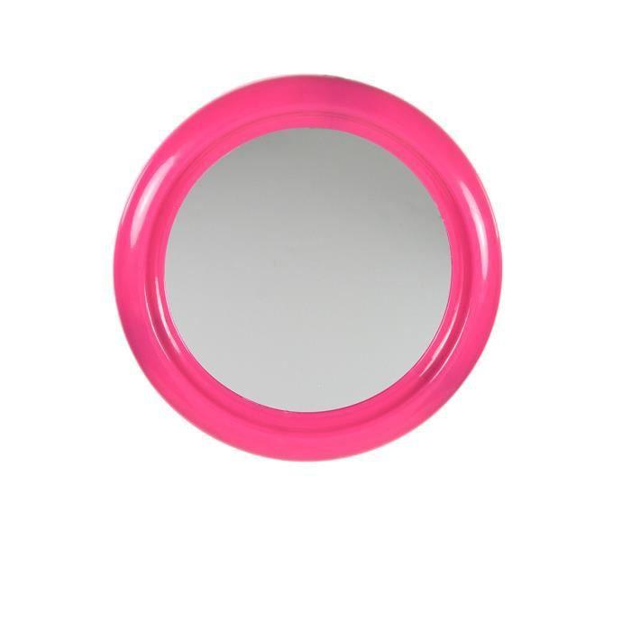 Miroir de salle de bain framboise rose achat vente for Miroir soldes