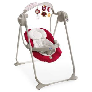 TRANSAT - BALANCELLE CHICCO Balancelle Polly Swing Up Red Wave