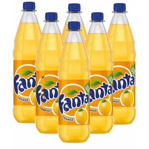 Soda - Thé glacé Fanta Orange 6 x 1l