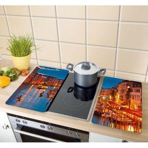 cache plaque de cuisson achat vente cache plaque de cuisson pas cher soldes cdiscount. Black Bedroom Furniture Sets. Home Design Ideas