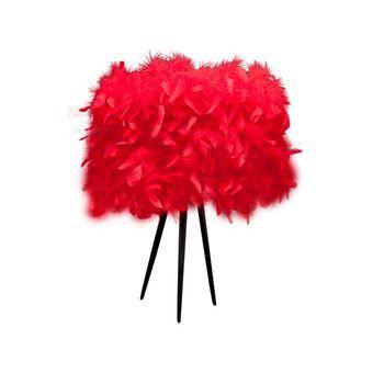 lampe plumes d 39 autruche achat vente lampe plumes d. Black Bedroom Furniture Sets. Home Design Ideas