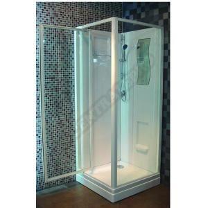 cabine de douche concerto 90 x 90 cm acc s de face achat vente cabine de douche cabine de. Black Bedroom Furniture Sets. Home Design Ideas