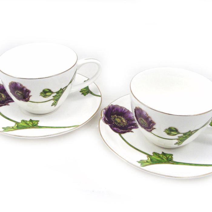 Ensemble porcelaine jardin des plantes 2 tasses achat vente service th caf cdiscount - Maison jardin des plantes nantes orleans ...