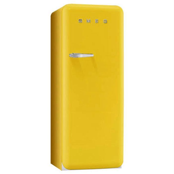 r frig rateur 1 porte jaune achat vente pas cher. Black Bedroom Furniture Sets. Home Design Ideas