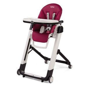 PEG PEREGO Chaise Haute Siesta - Coloris Fushia