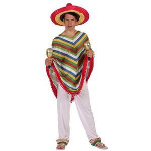 DÉGUISEMENT - PANOPLIE Déguisement homme Mexicain taille XL