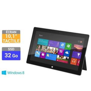 """TABLETTE TACTILE Microsoft  Surface RT 10,6"""" 32 Go"""