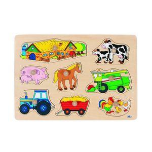 puzzle en bois a encastrer achat vente jeux et jouets. Black Bedroom Furniture Sets. Home Design Ideas
