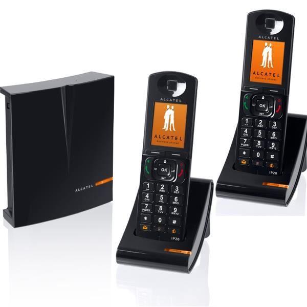 alcatel ip1020 duo achat t l phone fixe pas cher avis et meilleur prix cdiscount. Black Bedroom Furniture Sets. Home Design Ideas