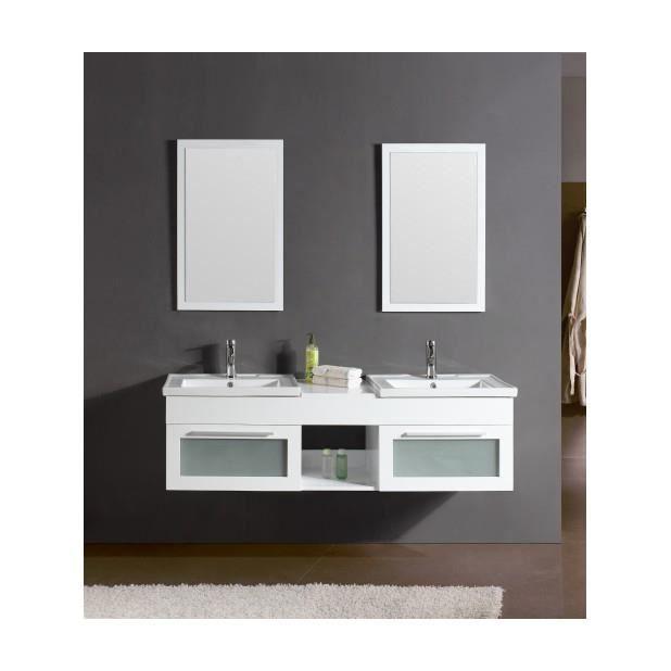 Magnifique meuble salle de bain ch ne complet bahamas for Meuble salle de bain complet