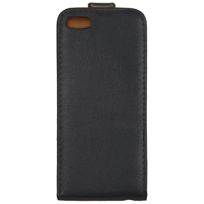 Housse etui a rabat rabattable apple iphone 5 5s achat for Etui housse iphone 5