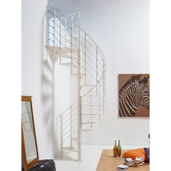 Escalier en colima on slim de chez fontanot diametre - Escalier colimacon prefabrique ...