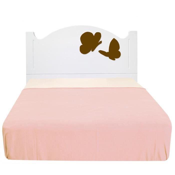 t te de lit enfant anastas a papillons moka 105 achat. Black Bedroom Furniture Sets. Home Design Ideas