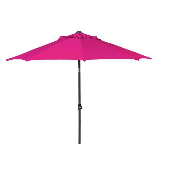 Hartman parasol solar line 3m 200gr m2 rose achat vente parasol ombrage hartman parasol 3m - Toile de parasol 8 baleines ...