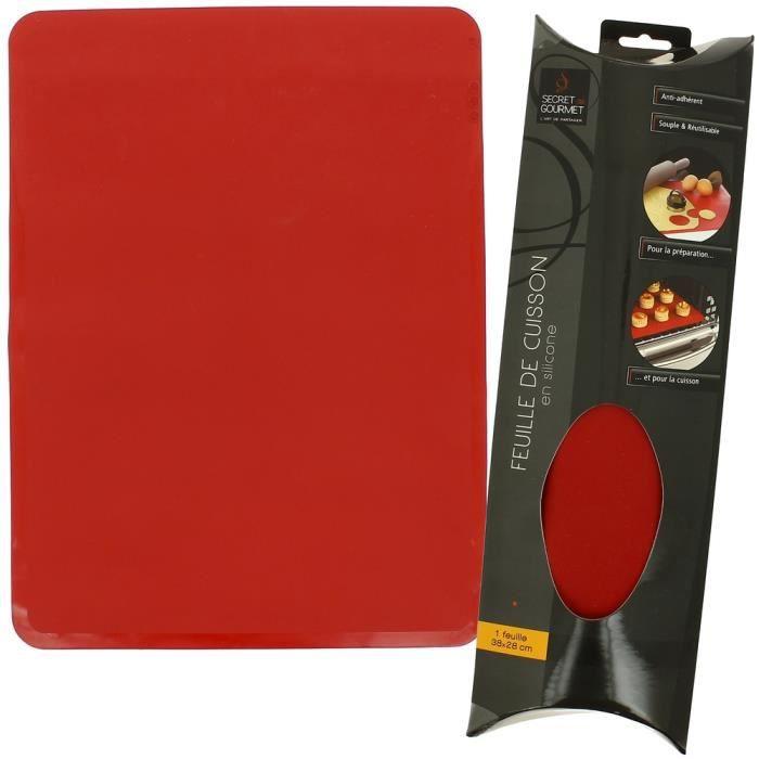 feuille de cuisson en silicone protection four achat vente feuille de cuisson feuille de. Black Bedroom Furniture Sets. Home Design Ideas
