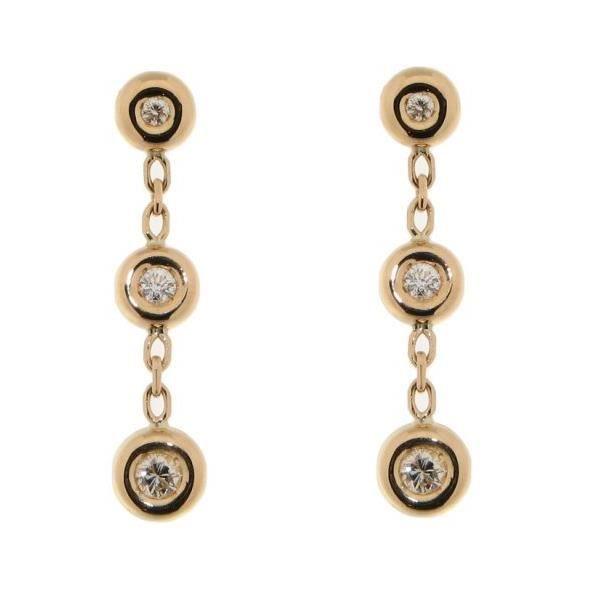 boucles d oreilles pendantes or jaune diamant p achat. Black Bedroom Furniture Sets. Home Design Ideas