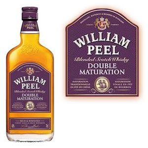 WHISKY BOURBON SCOTCH William Peel  double maturation 70cl
