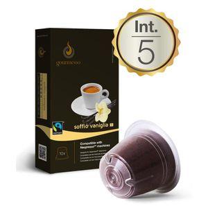 10 Soffio Vaniglia Capsules Compatibles Nespresso® Achat / Vente