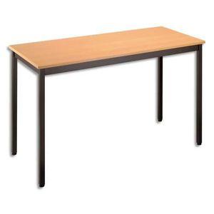 TABLE DE RÉUNION SODEMATUB Table polyvalente rectangulaire 120 x…
