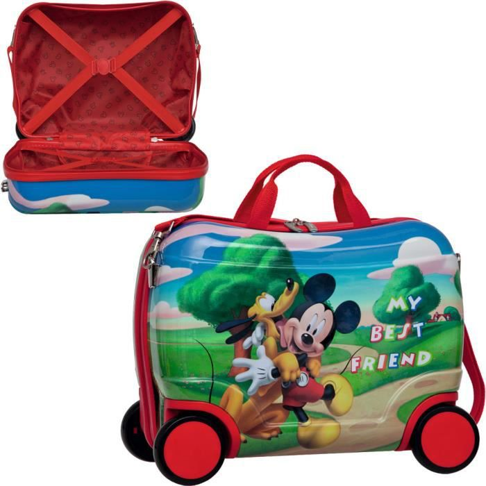 petite valise mickey achat vente valise bagage 8435306247095 soldes d t cdiscount. Black Bedroom Furniture Sets. Home Design Ideas