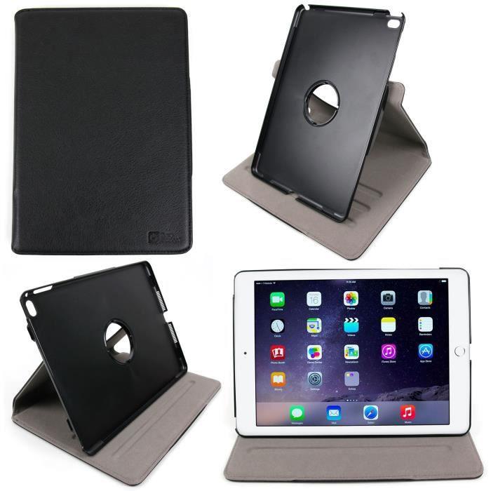 etui rotatif pour apple ipad air 2 chiffon bonus prix pas cher cdiscount. Black Bedroom Furniture Sets. Home Design Ideas